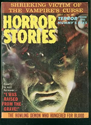 HORROR STORIES OCT 1971-RARE MAGAZINE-VAMPIRE FN