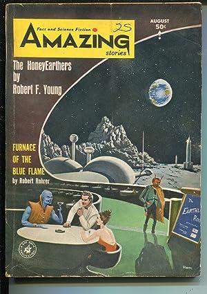 Amazing Stories 8/1964-Mort Weisinger-Superman-Sam Moskowitz-pulp stories-VG