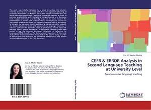 CEFR & ERROR Analysis in Second Language: Eva M. Mestre