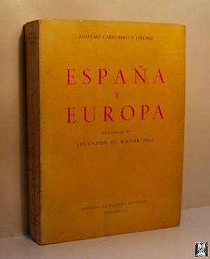 ESPAÑA Y EUROPA: CARRETERO Y JIMÉNEZ