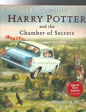 HARRY POTTER and the Chamber of Secrets: ROWLING J.K. illust.by