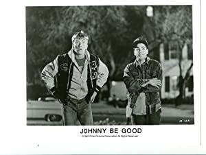 8x10-Promo-Still-Johnny Be Good-Hall-Downey Jr-NM-Comedy-Sport