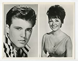ABC Stage 67-Ricky Nelson-Joanie Sommers-7x9-B&W-Still-TV-VG