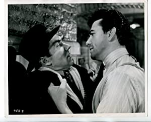 """The Square Ring 8""""x10"""" Black and White Promo Still Michael Golden Maxwell Reed FN"""
