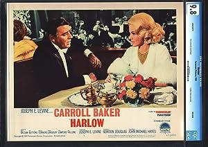 HARLOW-CARROL BAKER-GORGEOUS-CGC 9.8 MINT-LOBBY CARD NM/MINT