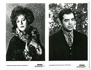8x10-B&W-Still-Bullets Over Broadway-Chaz Palminteri-Jennifer Tilly-VG