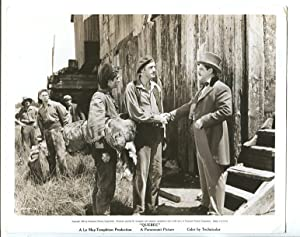 QUEBEC #70 1950-8 X 10-PROMO STILL-B&W-JOHN DREW BARRYMORE-PATRICK KNOWLES-fn