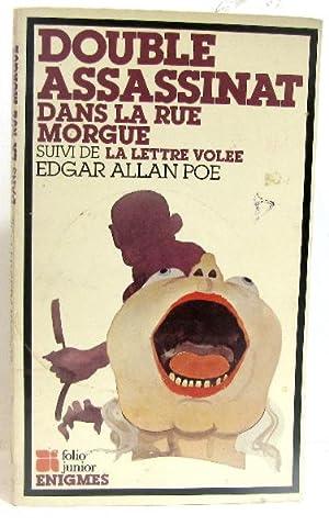 Double assassinat dans la rue morgue suivi: Poe Edgar Allan