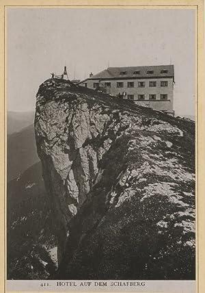 Würthle & Spinnhirn, Salzburg. Hotel auf dem: Photographie originale /