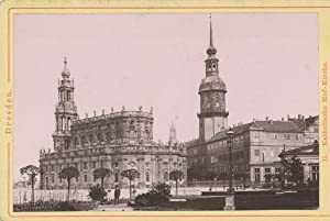 Römmler & Jonas, Dresden. Katholische Hof Kirche: Photographie originale /