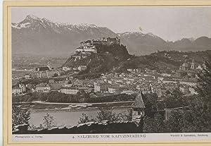 Würthle & Spinnhirn, Salzburg vom Kapunzinerberg: Photographie originale /