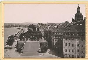 Römmler & Jonas, Dresden. Brühl sche Terrasse: Photographie originale /