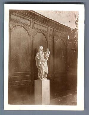 France, Écouis (Eure), Ste Anne: Photographie originale /