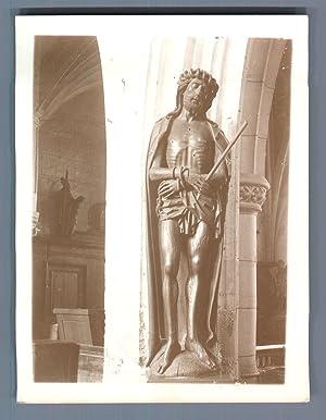 """France, Écouis (Eure), """"Ecce Homo"""": Photographie originale /"""