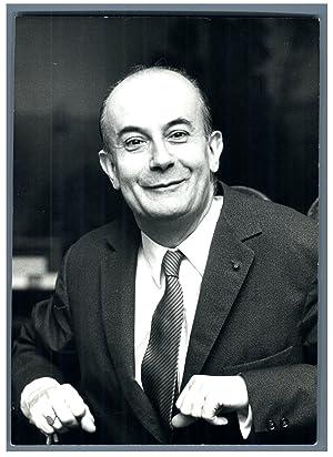 André Soubiran, médecin et écrivain français: Photographie originale /