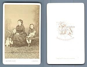 Delphin, Saumur, Anne Thiffoine, née Mercereau (1815-1906),: Photographie originale /