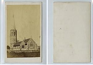 France, église à identifier: Photographie originale /