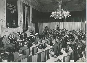 Italie, Convention Necchi, 1954: Photographie originale /