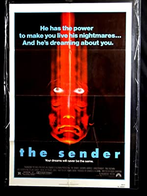 THE SENDER-ONE SHEET-1982-VG-KATHRYN HARROLD-SHIRLEY KNIGHT-PAUL FREEMAN G
