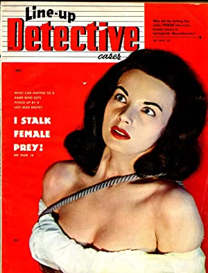 Line-up Detective Cases 12/1949-Astro-bound woman photo cover-lurid-VG