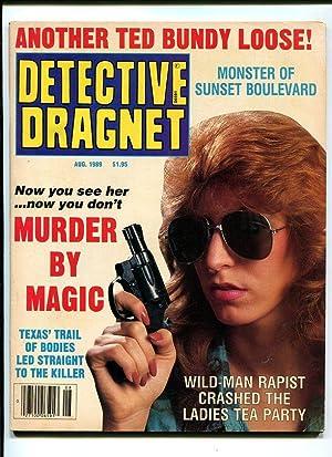 DETECTIVE DRAGNET-1989-AUGUST-WOMAN HOLDING UP GUN VG/FN