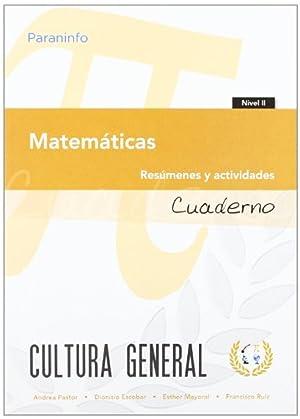 Cuaderno de trabajo matemáticas.: Pastor / Escobar