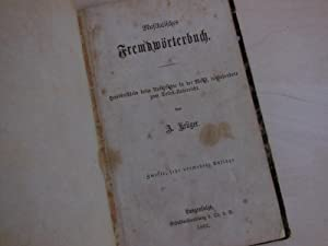 Musikalisches Fremdwörterbuch. Handbüchlein beim Unterrichte in der Musik, insbesondere zum ...