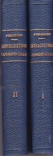 Système des contradictions économiques, ou Philosophie de: Proudhon Pierre Joseph