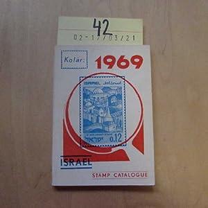 Israel Stamp Catalogue 1969: Kolar, Y. H.: