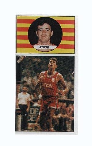 Imagen del vendedor de Cromo: Baloncesto 1986-1987: numero 101: Jose Maria Ayuso del TDK Manresa a la venta por EL BOLETIN
