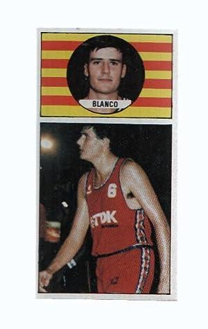 Imagen del vendedor de Cromo: Baloncesto 1986-1987: numero 108: Luis Blanco del TDK Manresa a la venta por EL BOLETIN