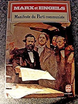 Manifeste du parti communiste 1848, critique du: Collectif