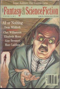 The Magazine of FANTASY AND SCIENCE FICTION: F&SF (Elizabeth Moon;
