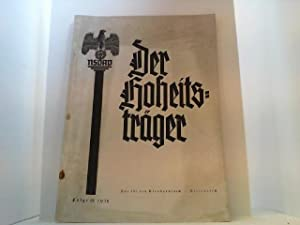 Der Hoheitsträger. 2. Jahrgang 1938, Folge IX.: Woweries, F.H. (Gesamtleitung),