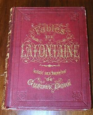 Les fables de Lafontaine avec les dessins de Gustave Doré: Lafontaine, Jean de