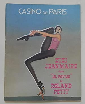 """Zizi Jean Marie dans """"la revue"""" de: Casino de Paris"""