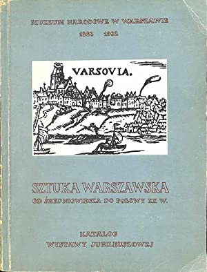 Sztuka warszawska od sredniowiecza do polowy XX: Kozakiewicz, Stefan ,