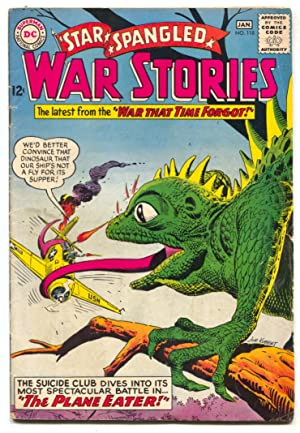 Star Spangled War Stories #118 1965 DC War dinosaur comics VG