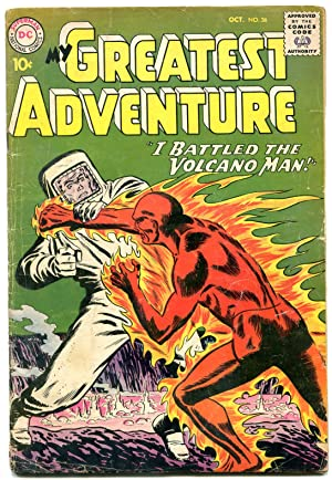 MY GREATEST ADVENTURE #36 1959-VOLCANO MAN-MORT MESKIN ART-very good VG