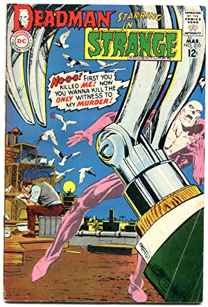 STRANGE ADVENTURES #210-DEADMAN-DC SILVER AGE VG