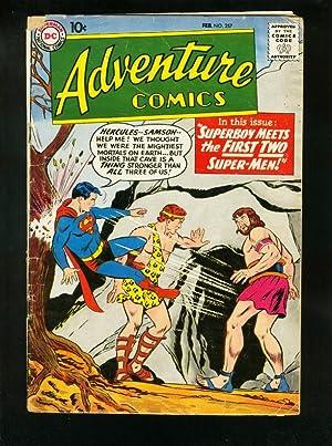 ADVENTURE COMICS #257 1959-SUPERBOY-GREEN ARROW-HERCULES-very good minus VG-