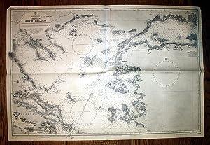 Mediterranean. Grecian Archipelago.: U.S. Navy Hydrographic Office: