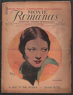 Movie Romances 6/1932-Sylvia Sydney-tabloid size-early 'talkies'-P