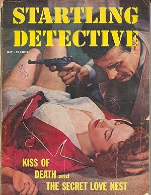 Startling Detective 5/1955-crime & pulp thrills-German Luger-VG
