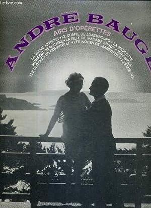 1 ALBUM DE 2 DISQUES AUDIO 33: BAUGE ANDRE
