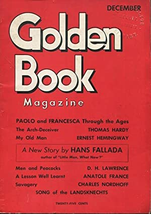 My Old Man / Golden Book Magazine