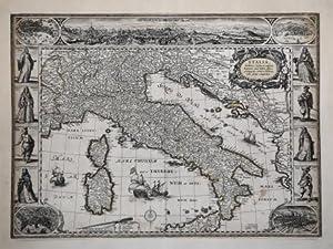 Italiae, Sardiniae, Corsicae et confinium Regionum nova: Willem Janszoon BLAEU