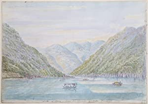 Lake of Como from the Terrace of: Amm. William PAGET