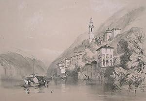 Nesso, lake of Como: James Duffield HARDING