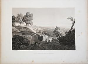 Vue d Agrigente prise des hauteurs: Achille Etienne GIGAULT